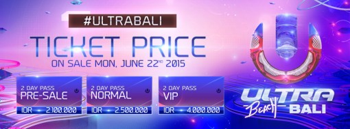 ultra bali ticket