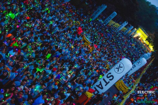 Electric Run Is One Of The World S Most Por Nocturnal Fun And Set To Light Up Malaysia Again This Year In What Will Be Its Gest Brightest