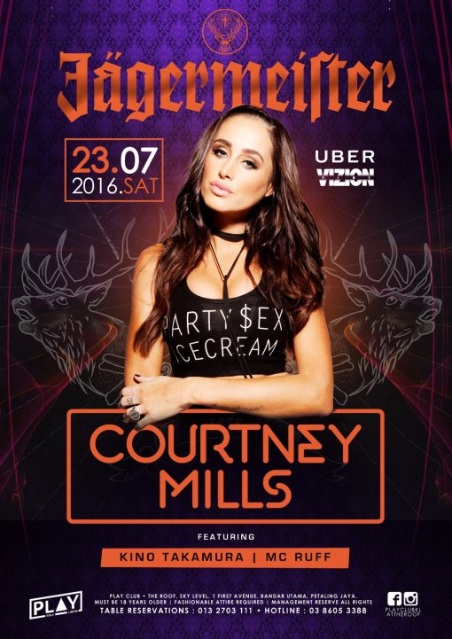 Courtney Mills Promo Poster