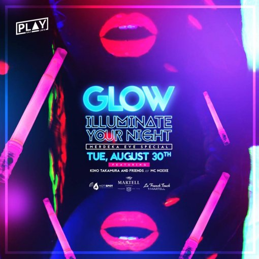 Glow Party_Illuminate Your Night poster